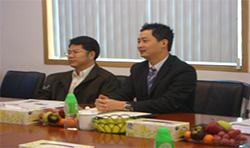 全国政协副主席、工商联主席黄孟复一行莅临银禧千赢国际科技调研